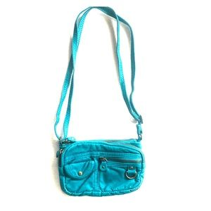 ROXY Crossbody Bag 3 zippers and small pocket